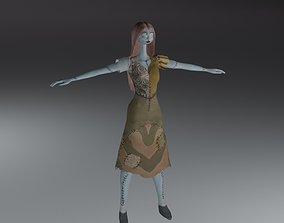 Sally from Nightmare before Christmas 3D model
