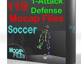 1-Soccer football motion capture animation 3D 1