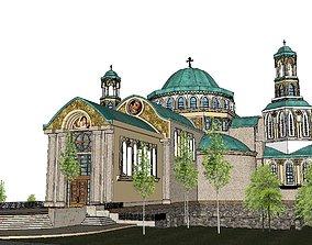 Architecture-Religion-God-Culture-Temple-062 3D model