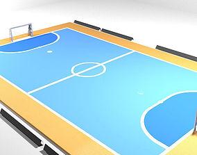 3D model Game Court - Futsal