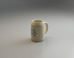 Tankard 3D model low-poly