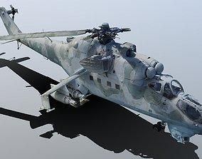 Mi-24V Exterior RAW 3D Scan 3d