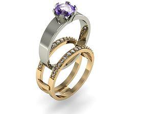 fashion ring transformer 3D printable model
