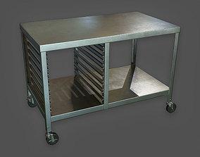 KTC - Kitchen Work Table - PBR Game Ready 3D asset