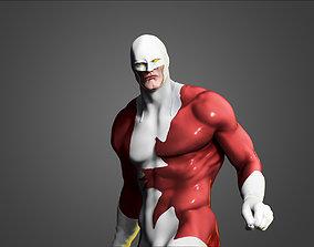 3D print model Guardian alpha flight canada super hero