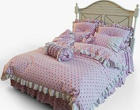 Panel Bed 3D model