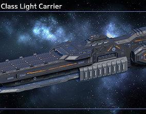 3D model Spaceship Light Carrier Valiant