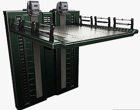 Sci fi elevator 3D model