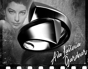 Noir stars Ava Lavinia Gardner 3D printable model