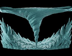 3D printable model Tornado Sculpt