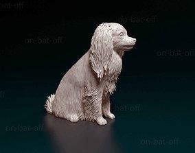 figurines 3D printable model Phalene dog