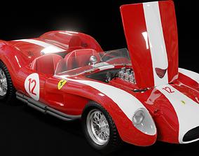 1957 Ferrari 250 Testa Rossa 3D model