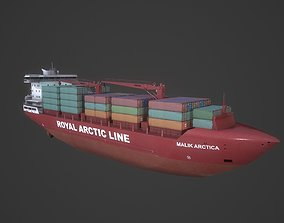 3D model Container Ship Mary Arctica