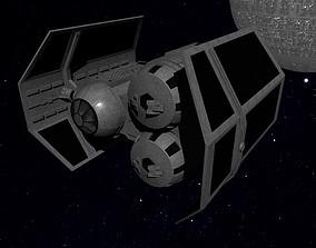 STAR WARS - TIE HEAVY BOMBER 3D asset