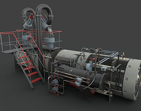 3D model PBR Machinery device