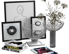 3D Line Collection by BoConcept Decorative Set