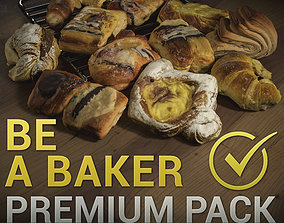 Pastries Pack - Photogrammetry Asset 3D PhotoScan low-poly