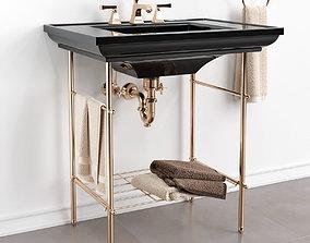 Memoirs Table legs KOHLER 3D model