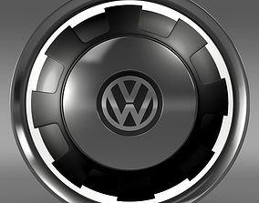 VW Beetle Classic rim 3D