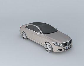 3D model 2014 Mercedes-Benz S-Class S 350