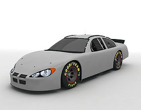 3D 2004 Dodge Intrepid Stock Car NASCAR