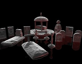 Ultimate Gravestone Collection 3D print model