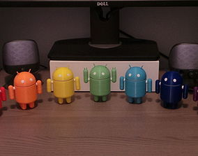 Android Robot 3D print model
