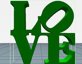 LOVE robert art 3D printable model
