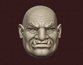 ORC head fantasy 3D print model