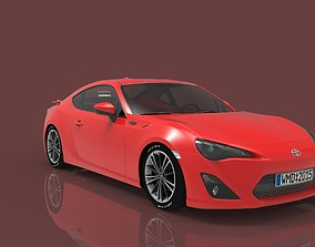 Toyota GT86 3D