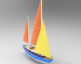 3D model Flagship Boat 2