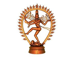 Shiva dance Xiang 3D printable model