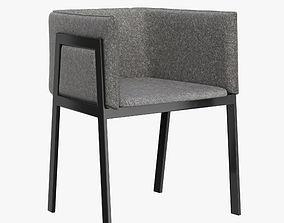 3D model Pin-Up Grace Chair By Living Divani