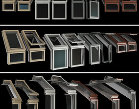 3D model Skylights Roof windows