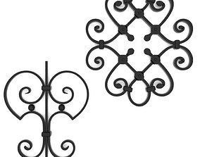 3D Wrought iron elements vol 1