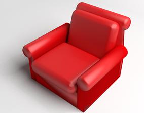 3D model Sofa Single Seater 10