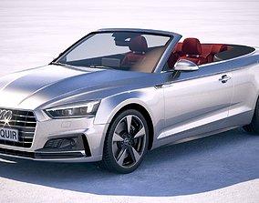 3D Audi A5 Cabriolet 2018