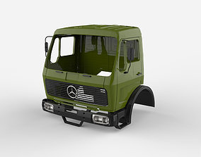 Mercedes Benz NG 1632 3D print model hobby-diy