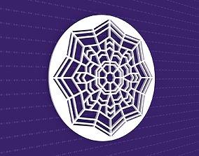 3D Mandala art flower
