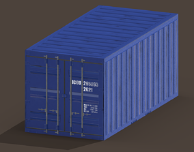 3D asset container