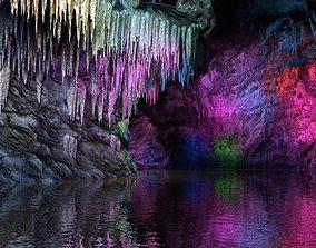 3D model Colorful Cave