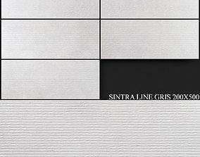 Keros Sintra Line Gris 200x500 3D model