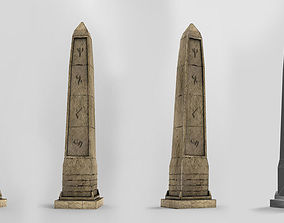 Obelisk 3D model