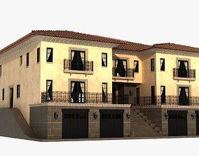 Luxury mediterranean villa 3D