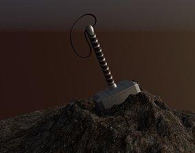 3D printable model Thor Hammer The Mjolnir