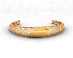 3D print model Llightweight golden bracelet V4