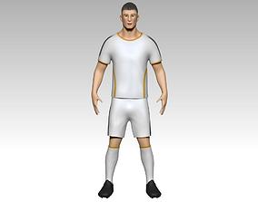 Footballer1 3D model