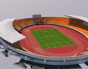 3D sports Stadium