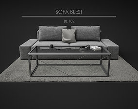 3D model Sofa Set - Blest 04