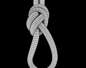 loop knot 3D asset